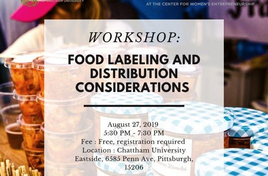 Workshop: Food Labeling and Distribution Considerations