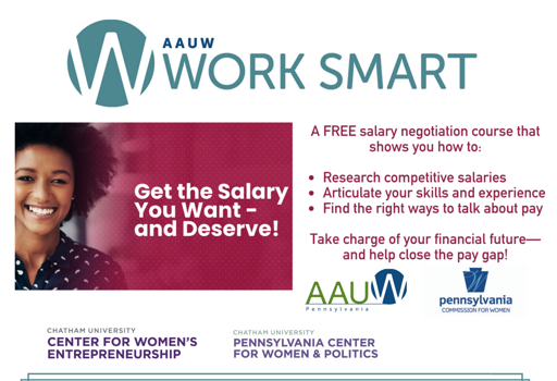 Workshop: AAUW Work Smart in Pennsylvania