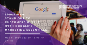 Livestream: Stand out to customers online with Google's marketing essentials